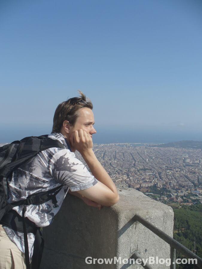 Владимир Галка в Барселоне