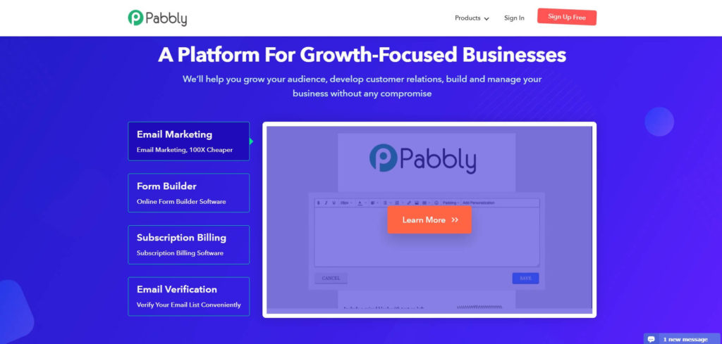 Партнерская программа Pabbly Bluehost