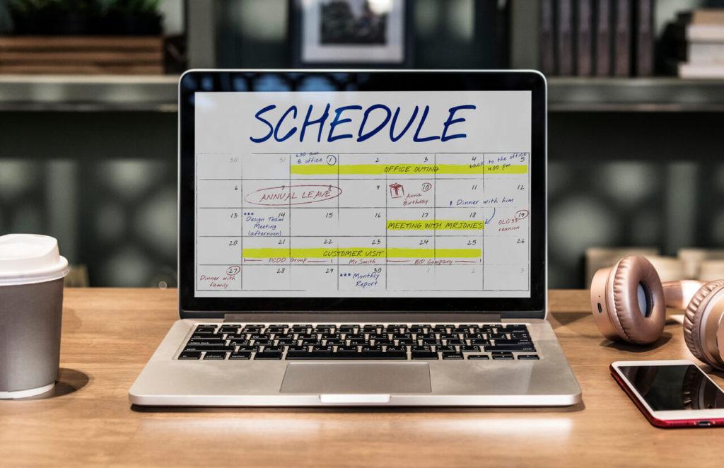 Тайм менеджмент: установите расписание работы